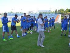 На СОК «Севастополь» состоялась открытая тренировка команды