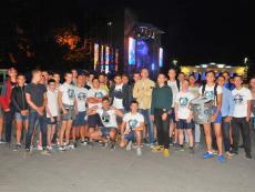 На площади Нахимова прошло чествование команды ФК «Севастополь»