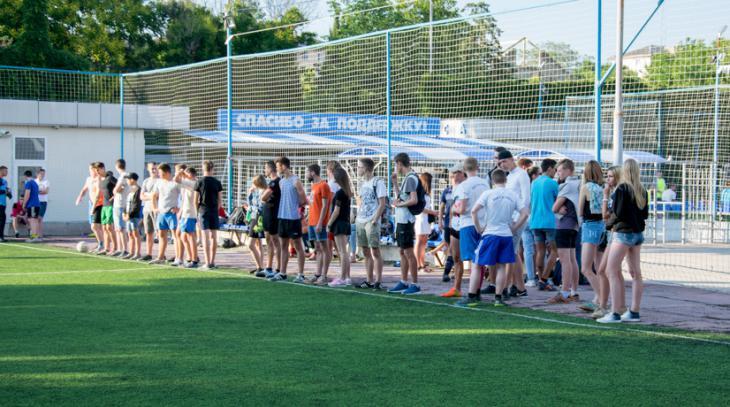 Ни дня без футбола! Турнир по мини-футболу среди болельщиков ФК «Севастополь»