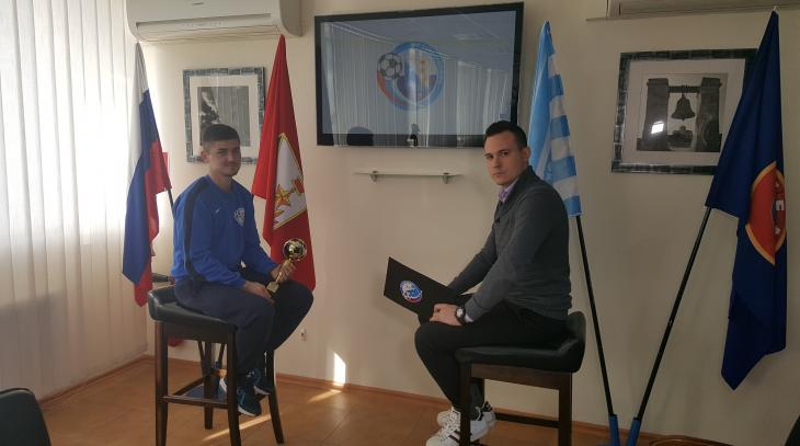 Андрей Кива выиграл «Золтой мяч»
