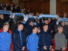 ФК «Севастополь» провел встречу с болельщиками