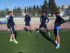 Футболисты ФК «Севастополь» провели совместную тренировку с детьми