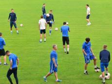 Открытая тренировка ФК «Севастополь» перед матчем с «Крымтеплицей»