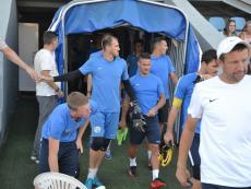 Открытая тренировка ФК «Севастополь» перед матчем с «Евпаторией»