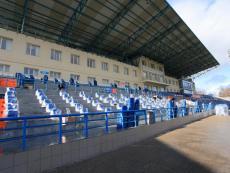 На трибунах стадиона СОК «Севастополь» завершился монтаж новых сидений