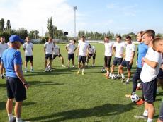 Тренировка перед Суперкубком
