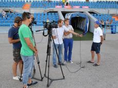 Открытая тренировка ФК «Севастополь» перед матчем с «Океаном»