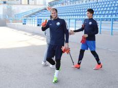 Тренировка ФК «Севастополь» перед матчем с «Инкомспортом». Ноябрь 2019