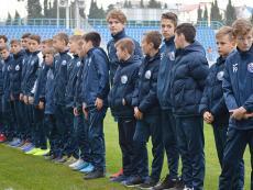 Награждение юных футболистов. Ноябрь 2019 г.