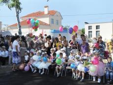 Футбольный клуб «Севастополь» сделал подарок новой школе