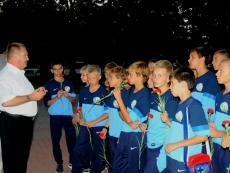 Команда ФК «Севастополь» 1999 года рождения принята в футбольную семью!