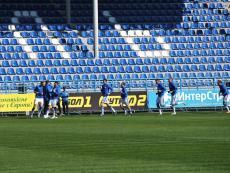 В Севастополе играют в футбол. Открытая тренировка
