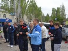 ФК «Севастополь» чтит память героев