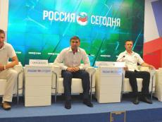 Пресс-конференция руководителей крымского и севастопольского футбола