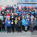 Новогодний праздник в детской футбольной секции ФК «Севастополь»