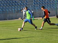 Открытая тренировка ФК «Севастополь» перед матчем в «Кафой»
