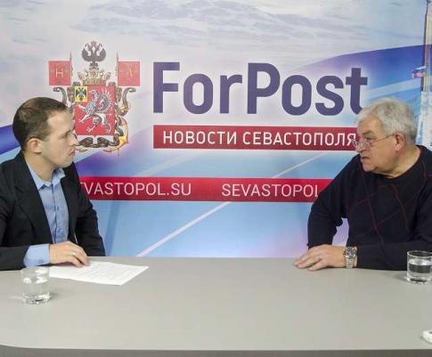 В студии ForPost Генеральный директор АО ФК «Севастополь» Александр Шиловцев